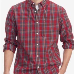 Men'sDylanClassicFitFlexStretchTartan Shirt